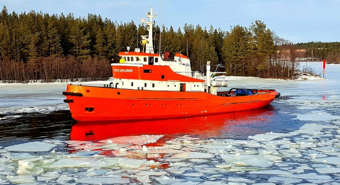 Icebreaker Tour 2 Hours Plus Guided Transfer Pine Bay Lodge